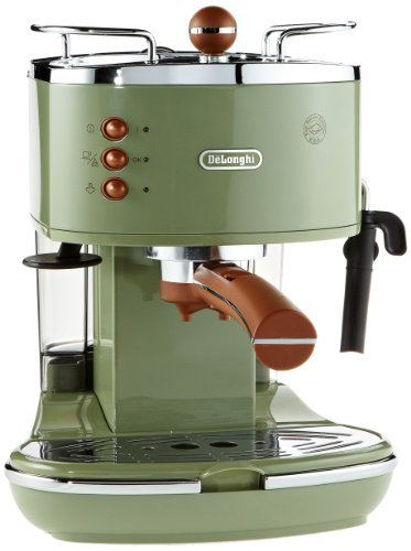 vintage de 39 longhi icona coffee maker in green cream 140 the coffee blog. Black Bedroom Furniture Sets. Home Design Ideas